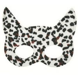 Škraboška plesová kočka tygrovaná 19 cm