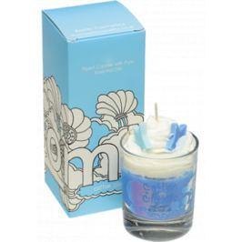 Bomb Cosmetics Mraky v bavlnce vonná přírodní, ručně vyrobena svíčka ve skle hoří až 35 hodin