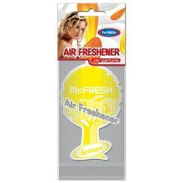 Mister Fresh Car Parfume Lemon osvěžovač vzduchu závěsný 1 kus