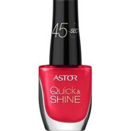 Astor Quick & Shine Nail Polish lak na nehty 611 Raise A Glass 8 ml