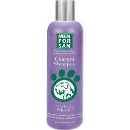 MenForSan Zesvětlí bílou srst přírodní šampon pro psy 300 ml