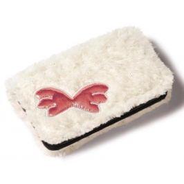Nici Plyšová peněženka 16x9,5 cm - bílá