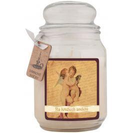 Bohemia Gifts & Cosmetics Na křídlech andělů dárková vonná svíčka ve skle doba hoření 105 -120 hodin 510 g
