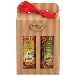 Bohemia Gifts & Cosmetics Hadí jed sprchový gel 250 ml + šampon na vlasy 250 ml, kosmetická sada