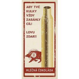 Bohemia Gifts & Cosmetics Pro myslivce Mléčná čokoláda dárková 100 g