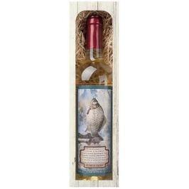 Bohemia Gifts & Cosmetics Chardonnay Rybářské víno Petrův zdar bílé dárkové víno 750 ml