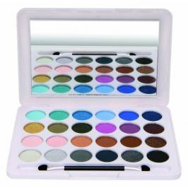 Eden BC Artists Palette paleta 24 očních stínů kosmetická kazeta 96330 Paletky dekorativní kosmetiky