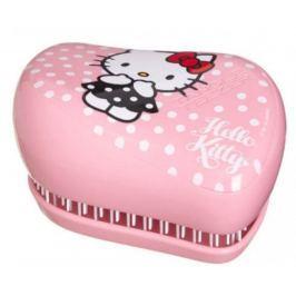 Tangle Teezer Compact Hello Kitty Profesionální kompaktní kartáč na vlasy růžový