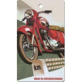 Bohemia Gifts Aromatická vonná karta Motorka 250 11 x 6,3 cm