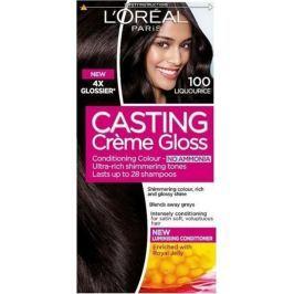 Loreal Paris Casting Creme Gloss barva na vlasy 100 temně černá