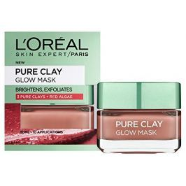 Loreal Paris Pure Clay Glow Mask exfoliační pleťová maska 50 ml