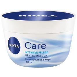 Nivea Care výživný denní krém na tvář, ruce a tělo 100 ml