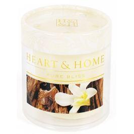 Heart & Home Santalové dřevo a vanilka Sojová vonná svíčka bez obalu hoří až 15 hodin 53 g