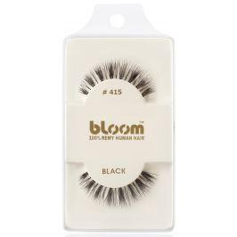 Bloom Natural nalepovací řasy z přírodních vlasů obloučkové černé č. 415 1 pár