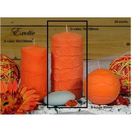 Lima Sirius Exotic vonná svíčka oranžová válec 70 x 150 mm 1 kus