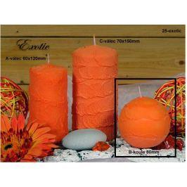 Lima Sirius Exotic vonná svíčka oranžová koule 80 mm 1 kus