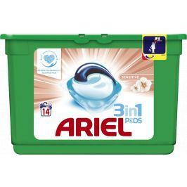 Ariel All-in-1 Pods Sensitive gelové kapsle na praní prádla 14 kusů 338,8 g