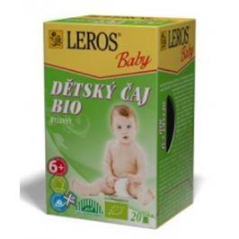 Leros Baby Bio bylinný čaj pro děti 20 x 2 g