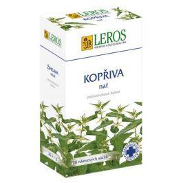 Leros Kopřiva nať bylinný čaj při jarních čistících kúrách 20 x 1 g Drogerie