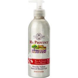 Ma Provence Bio Třešeň Pravý přírodní sprchový gel 250 ml