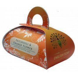 English Soap Pomerančové Pačuli přírodní parfémované mýdlo s bambuckým máslem 260 g