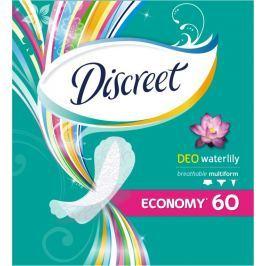Discreet Deo Waterlily slipové intimní vložky pro každodenní použití 60 kusů