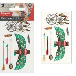 Tetovací obtisky lapač snů 10,5 x 6 cm
