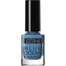 Gabriella Salvete Blue Ocean Enamel lak na nehty 02 Blue Marine 11 ml