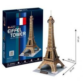 CubicFun Puzzle 3D Eiffelova věž 35 dílků 20,5 x 47 x 23 cm