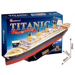 CubicFun Puzzle 3D Titanic 113 dílků 80 x 20 x 11 cm