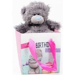 Me to You Medvídek v dárkové tašce Narozeniny 13 cm