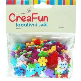 CreaFun Konfety Motýl + Kytka 14 g