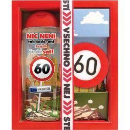 Bohemia Gifts & Cosmetics Vše nejlepší 60 sprchový gel 300 ml + ručně vyráběné toaletní mýdlo 55 g, kosmetická sada