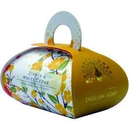English Soap Cínie & Bílý cedr přírodní parfémované mýdlo s bambuckým máslem 260 g