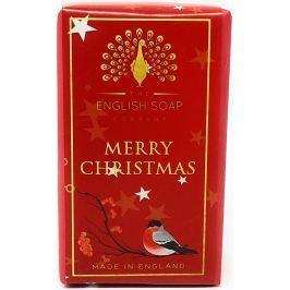 English Soap Merry Christmas přírodní parfémované mýdlo s bambuckým máslem 200 g