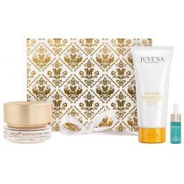 Juvena Juvelia Nutri-Restore pleťový krém 50 ml + Vitalizing sprchový gel 200 ml + Aqua Recharge Essence 10 ml, kosmetická sada