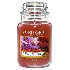 Yankee Candle Vibrant Saffron - Živoucí šafrán vonná svíčka Classic velká sklo 623 g