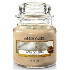 Yankee Candle Warm Cashmere - Hřejivý kašmír vonná svíčka Classic malá sklo 104 g