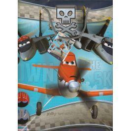 Ditipo Disney Dárková papírová taška pro děti L Planes 32,4 x 12 x 26,4 cm 2902 008