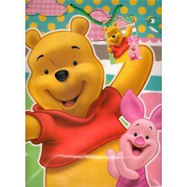 Ditipo Disney Dárková papírová taška pro děti L Medvídek Pú, What a Fun Day! 26 x 13,7 x 32,4 cm 2902 009