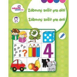 Ditipo Zábavný sešit pro děti 5 -7 let 16 stran 215 x 275 mm