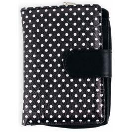 Albi Original Designová peněženka Černá s puntíky 9 x 13 cm