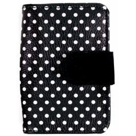 Albi Original Designová manikúra Černá s puntíky 6 dílná