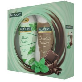Palmolive Mint Shake sprchový gel 250 ml + Chocholate sprchový gel 250 ml, kosmetická sada
