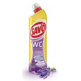 Savo Levandule WC gel čisticí přípravek na toalety 750 ml