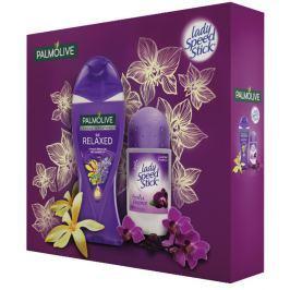 Palmolive Relax sprchový gel 250 ml + Lady Speed Stick Black Orchid, kosmetická sada