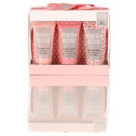Body Collection Fresh sprchový gel 60 ml + tělové mléko 60 ml + koupelová pěna 60 ml, kosmetická cestovní sada