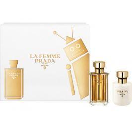 Prada La Femme parfémovaná voda pro ženy 50 ml + tělové mléko 100 ml, dárková sada