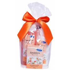 Kappus Sanddorn - Rakytník sprchový gel 250 ml + tělové mléko 200 ml + tuhé mýdlo 125 g, kosmetická sada