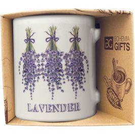 Bohemia Gifts & Cosmetics Keramický hrnek s obrázkem Levandule 2 350 ml
